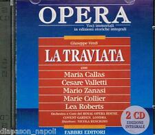Verdi: La Traviata / Rescigno, Callas, Valletti, Zanasi, Collier, Londra 1958 CD