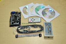 Altera CycloneIV FPGA development board EP4CE6E22C8N with usb blaster set