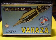 boite de plumes  scellee DE 100 PLUMES NEUVES VAHAZA 1129    N°2