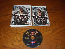 CASTLEVANIA: JUDGEMENT / NINTENDO WII GAME!