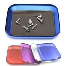 New Aluminium Screw the Tray With Magnetic Pad for RC Model Cell Phone Repair