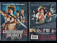 Chanbara Beauty Movie - Vortex (Brand New DVD, 2013) - Rare, Hard To Find