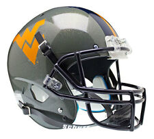 WEST VIRGINIA MOUNTAINEERS GRAY SCHUTT XP FULL SIZE REPLICA FOOTBALL HELMET