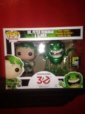 Ghostbusters 30th Anniversary 2014 SDCC Excl Peter & Slimer 2 Pk Funko Pop!