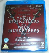 THE THREE MUSKETEERS + FOUR MUSKETEERS New 2-Film Blu-Ray set 1973 1974 3 4