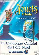 ▬► Catalogue Jouets Leclerc 1996 POWER RANGERS_SPIDERMAN_DRAGON BALL Z_.........