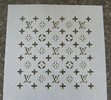 Designer Cake Decorating Stencil 3LV (8x8 in.) fondant gum paste cup cake