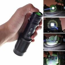New 4000LM Zoomable Cree XML T6 LED 5 Modes Police Flashlight Lamp Torch Y4