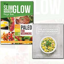 Paleo 2 Books Collection Set Paleo for Beginners,Autoimmune Paleo Cookbook [NEW]