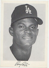 1972 LOS ANGELES DODGERS TEAM ISSUE PHOTO CARD MANNY MOTA EXPOS PIRATES GIANTS
