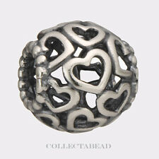 Authentic Pandora Sterling Silver Open Your Heart Bead 790964