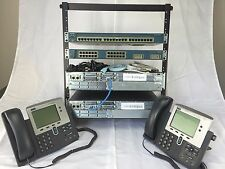 Best Cisco CCNP, CCNP Security, CCNP Voice complete home lab kit CCVP CCIE