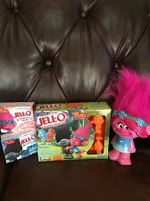 Trolls Jello Mold With LE Jello Cotton Candy Strawberry Shortcake &  Poppy Bank