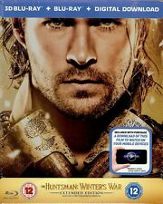The Huntsman: Winter's War 3D Limited Extended Edition SteelBook Region Free UK