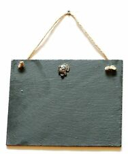Turkey Slate Chalk Notice Board  Messages, Lists, Shooting Gift