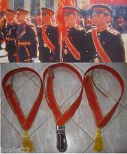 CCCP porte drapeau-bandouliere série de 3 pièces 1982 Armée Soviétique URSS
