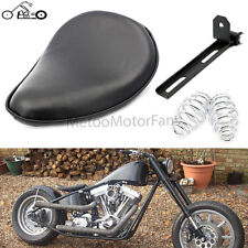 For Harley Sportster Chopper Bobber Custom SOLO Spring Bracket Seat Leather