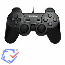 PS3 PC USB 2.0 Wired Game Controller Gamepad Joypad for Laptop Computer Analogue