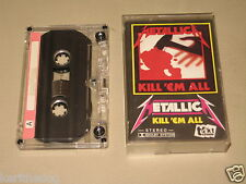 METALLICA - Kill'em All - MC Cassette tape /1946