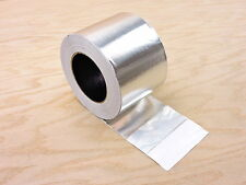 "4"" HVAC Heat Shield Duct Sealing Self Adhesive Aluminum Foil Tape 150' 50 yd"