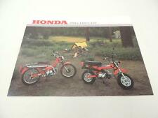 NOS 1981 CT110 CT70 Honda Dealer Brochure L14