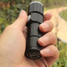 Hot Mini Adjustable Portable LED Zoom 1800LM USB Rechargeable Flashlight Torch