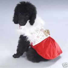 NEW PAW APPEAL DOG PUPPY PET Holiday SNOWFLAKE PRINCESS Christmas DRESS Medium M