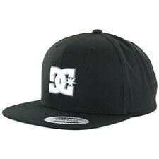 "DC Shoes ""Snappy"" Snapback Hat (Black) Men's Yupoong The Classics Adjustable Cap"