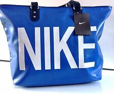 New Womens Ladies Nike Handbag Large Tote Bag Work Gym Holiday Deep Blue Bag