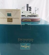 WDCC Enchanted Places STEAMBOAT from Steamboat Willie Mint In Box, COA