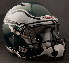 **GAMEDAY-AUTHENTICATED** Philadelphia Eagles NFL Riddell Speed Football Helmet