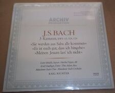 Karl Richter BACH Cantatas No.65, 108 & 124 - Archiv 198 416 SEALED