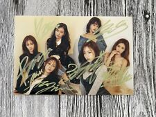 TARA T-ARA Autographed signed TIAMO  Group Photo 4*6 freeshipping 11.2016 B