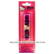 HELLO KITTY By SANRIO Flavored Lip Balm GRAPE Dark+Light Purple TUBE (Carded)