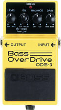 Boss ODB3 Bass Overdrive Effect Pedal - Brand New!