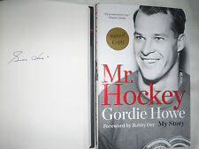***SIGNED 1st Print/Ed*** Mr. Hockey My Story by Gordie Howe (Bobby Orr) NEW