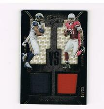 TODD GURLEY & DAVID JOHNSON 2016 PANINI BLACK GOLD DUAL PATCH 94/99