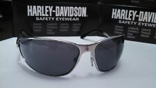 Harley Davidson Sunglasses Softail Silver Frm Gray lens+ Free cord &Wiping cloth
