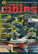 CIBLES N° 449--AR15/M16/SMITH & WESSON M&P 45/BISLEY/MAS 35 A AU TIR/MAUSER