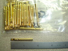 "Lot of 19 POGO PIN Receptacle 0.125"" solder cup Test Probe Ostby Barton"