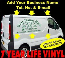 Garden Services Professional Vehicle Sign-writing Self Adhesive Vinyl Stickers