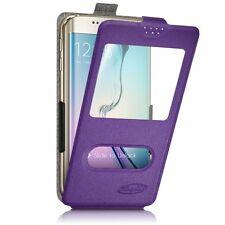 Etui S-View à clapet Universel S Couleur Violet pour Samsung Galaxy S5 Mini