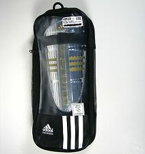 Adidas Predator Replique Soccer XL ShinGuard w Ankle Sock New in Pkg Silver Gold