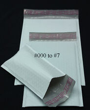"250 PCS 5 X9"" #00 Poly Bubble Mailer Sealing Envelope Protective Mailing Bag"