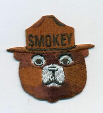 Smokey the Bear patch, 2.5 inches high, excellent detail for the collector. Rare