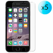 "5x FILM PROTECTEUR EN ECRAN ULTRA TRANSPARENT POUR APPLE IPHONE 6 4.7"" LCD"