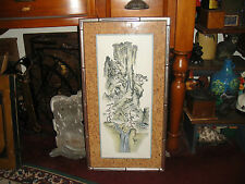 Superb Mary Ann Lis Lithograph Mountains-Signed & Numbered-Asian Theme-LQQK