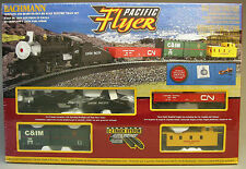 BACHMANN HO PACIFIC FLYER TRAIN SET READY TO RUN atlas steam engine 00692