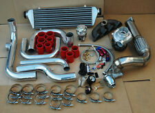 HONDA CIVIC EG EK DEL SOL FULL TURBO KIT T3/T4 .63+DOWNPIPE+MANIFOLD+PIPING+BOV
