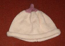 BOOB BEANIE... BREAST BEANIE HAT  .FOR BABY NEW HAND KNITTED SIZE 0-3 MONTHS